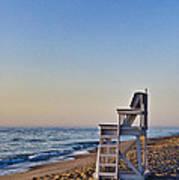 Cape Cod Lifeguard Stand Print by John Greim