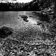Cary Lake After The Storm Print by David Patterson