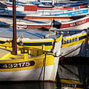 Cassis Boats Print by Brian Jannsen