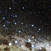 Centaurus And Crux Constellations Print by Eckhard Slawik