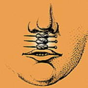 Cleft Lip Print by Mehau Kulyk