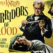 Corridors Of Blood, Boris Karloff, 1958 Print by Everett
