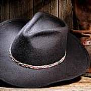 Cowboy Hat Print by Olivier Le Queinec