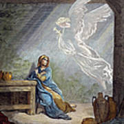 DorÉ: The Annunciation Print by Granger