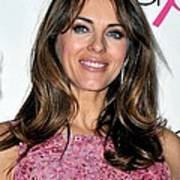 Elizabeth Hurley At A Public Appearance Print by Everett