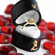 Engagement Ring Print by Carlos Caetano