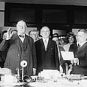 Ex-president William Howard Taft Print by Everett
