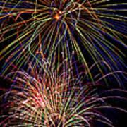 Fireworks Celebration Print by Garry Gay
