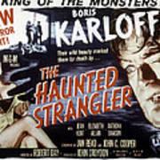 Grip Of The Strangler, Aka The Haunted Print by Everett