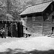 Grist Mill Print by Regina McLeroy