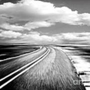 Highway Run Print by Scott Pellegrin