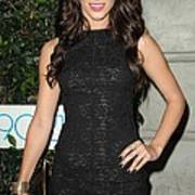 Jessica Lowndes At Arrivals For 90210 Print by Everett