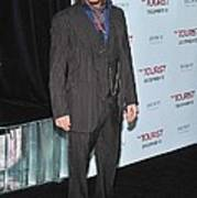 Johnny Depp At Arrivals For The Tourist Print by Everett