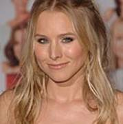 Kristen Bell At Arrivals For You Again Print by Everett
