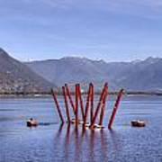 Lake Maggiore Locarno Print by Joana Kruse