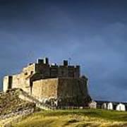 Lindisfarne Castle On A Volcanic Mound Print by John Short