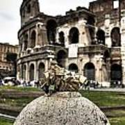 love locks in Rome Print by Joana Kruse