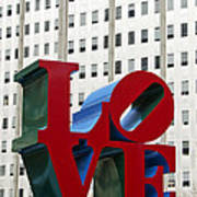 Love Park - Center City - Philadelphia Print by Brendan Reals
