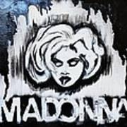 Madonna Print by Cat Jackson