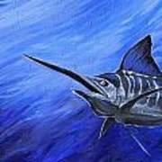 Marlin Print by Jenn Cunningham