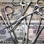 Medical Costs Print by Tek Image