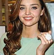 Miranda Kerr At In-store Appearance Print by Everett