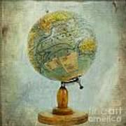 Old Globe Print by Bernard Jaubert