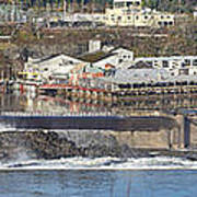 Old Industrial Complex Panorama Oregon City Or. Print by Gino Rigucci