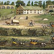 Quaker Meeting, 1811 Print by Granger