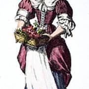 Quaker Woman 17th Century Print by Granger
