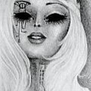 Queen Machina Print by Melissa Cabigao