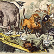 Republican Elephant, 1874 Print by Granger