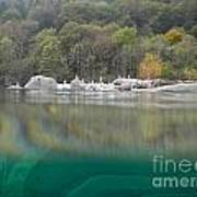 River With Trees Print by Mats Silvan