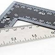 Rulers Print by Blink Images
