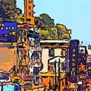 San Francisco Broadway Print by Wingsdomain Art and Photography