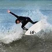 Surfing 395 Print by Joyce StJames
