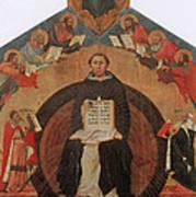 Thomas Aquinas, Italian Philosopher Print by Photo Researchers