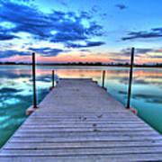 Tranquil Dock Print by Scott Mahon