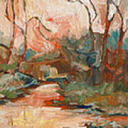 West Fork 2 Print by Sandy Tracey