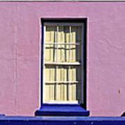 Windows Of Bo-kaap Print by Benjamin Matthijs