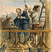 Witch Trial: Execution, 1692 Print by Granger