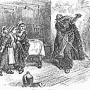 Witch Trial: Tituba, 1692 Print by Granger