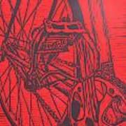 Bike 3 Print by William Cauthern