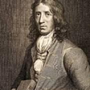 1698 William Dampier Pirate Naturalist Print by Paul D Stewart