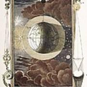 1731 Johann Scheuchzer Creation 4th Day B Print by Paul D Stewart