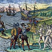 Christopher Columbus Print by Granger
