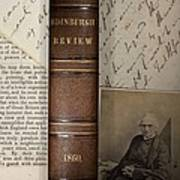 1860 Adam Sedgwick Review Of Darwin Print by Paul D Stewart