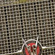 1930 Cadillac 452 Fleetwood Grille Emblem Print by Jill Reger