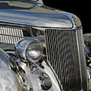 1936 Ford - Stainless Steel Body Print by Jill Reger