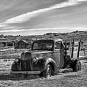 1939 Ford Truck Bodie Ca Print by Troy Montemayor